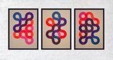Flowing Circle Lines origingele complete serie