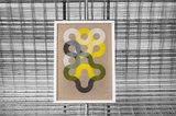Flowing Circle Lines - ingelijst