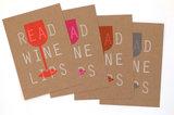 Read Wine Lips A6 Riso Ansichtkaarten