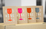 Read Wine Lips - Serie Ansichtkaarten