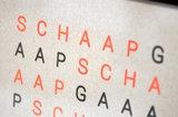 schaap gaaap slaaaap Fluor oranje detail