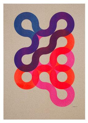 Flowing Circle lines - variation 01