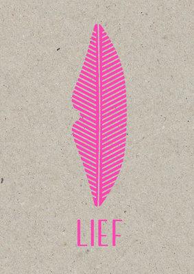 Lief | A3 Riso Artprint Fluor Pink