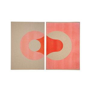 jwtwel, Circles Left Right fluor oranje