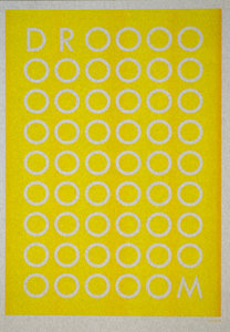 DROOOM A3 Riso poster Sunflower