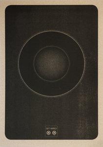Get Wired A3 Poster Zwart